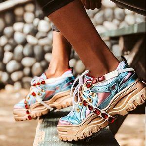 Cape Robbin Multi chunky stoned sneakers